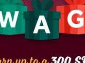 More Free Gift Cards Holidays from Swagbucks During December's Swago with Spin (Intl)
