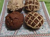 Muffins Chocolat Beurre D'arachide Chocolate Peanut Butter /muffins Mantequilla Maní /مافن الشوكولاطة زبدة الفول السوداني