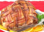 Honey-Glazed Bacon-Wrapped #SundaySupper