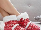 Pair Cosy Christmas Booties!