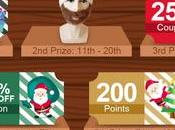 Help Santa Find Christmas Presents $100 Gift Cards!