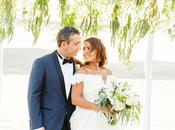 Romantic Elegant Wedding Beach