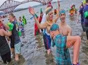 Year's Celebrations: South Queensferry Loony Dook