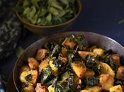 Moringa Leaves Potato Sabzi