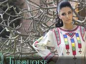 Turquoise Summer Semi Formal Cotton Collection 2012 Women