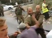 Viral Video: Israeli Army Officer Smashes Danish pro-Palestinian Protester Face with Rifle
