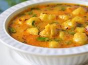 Paka Kela Sabzi ,Ripe Banana Curry