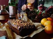 Orange Gingerbread Loaf Manhattans