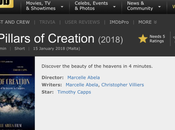 NEWS: Pillars Creation IMDb