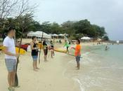 (Stand Paddle) with Island Buzz Philippines Mactan Newtown Beach