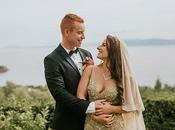 Romantic Elegant Wedding Kefalonia Vicki Luke