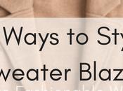 Five Ways Style Sweater Blazer