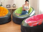 GOOD IDEA... WASTE MONEY? Inflatable Empire Chair