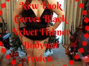 Look Curves Black Velvet Fishnet Bodysuit Review