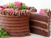 Mini Layered Chocolate Cake