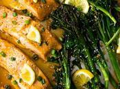 Sheet Honey Lemon Salmon & Broccolini
