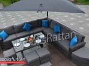 Garden Space Saving Ideas with Rattan Furniture