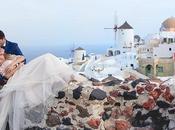 Gorgeous Elegant Wedding Santorini Katerina Nikitas