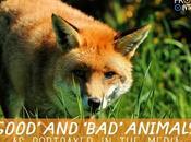 'Good' 'Bad' Animals Portrayed Media
