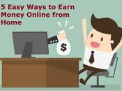 Easy Ways Earn Money Online from Home