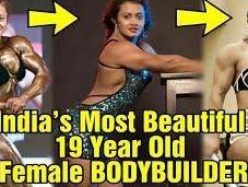 Europa Bhoumik Badass Bodybuilder!