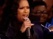 Jennifer Hudson Performs 'The Times They Changing' Rally