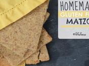 Homemade Gluten Free Matzo (vegan)