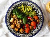 Coconut Curry Tofu Buddha Bowl Vegan, Gluten-free Recipe