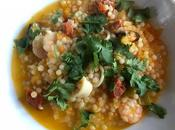 Instant Giant Cous with Seafood