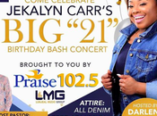 JeKalyn Carr 21st Birthday Bash Atlanta April 22nd