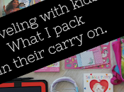 Traveling with Kids: What Carry