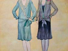 1920s Fashion Dress Your Silhouette