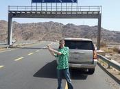 World Borders: Muslims Only Fork Road Near Mecca, Saudi Arabia