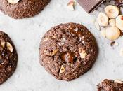 Double Chocolate Hazelnut Cookies (Gluten Free, Paleo Vegan)