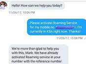 Activate Roaming Service When You're Already Outside Country?
