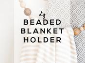 Jour: Beaded Blanket Holder