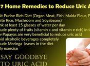 Home Herbal Remedies Increased Uric Acid Level (Gout)