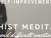 Buddhist Meditation Accept Difficult Emotions Them