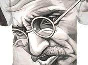 Gandhi Watercolor, Illustrations Available T-shirts Clothes, Check https://bit.ly/2sbkuKX #gandhi #india #watercolor #drawing #tshirts #clothes #photography #benheineart #art #portrait