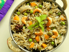 Friendly Vegetable Biryani