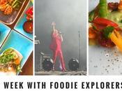 Week Pictures with Foodie Explorers