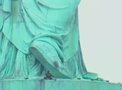 Woman Protesting July Climbs Statue Liberty