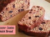 Carrot Raisin Quick Bread Recipe