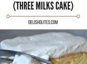 Torta Tres Leches Milks Cake)