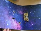 Neon Galaxy Stationery from SMASH