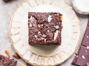 Salted Almond Brownies (Gluten Free, Paleo Vegan)