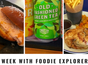 Week with Foodie Explorers 15th July 2018