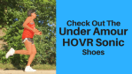 Check Under Armour HOVR Sonic Shoes