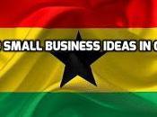 Small Business Ideas Ghana