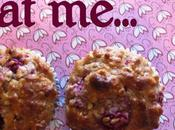 Rasberry Oatmeal Low-fat Muffins
